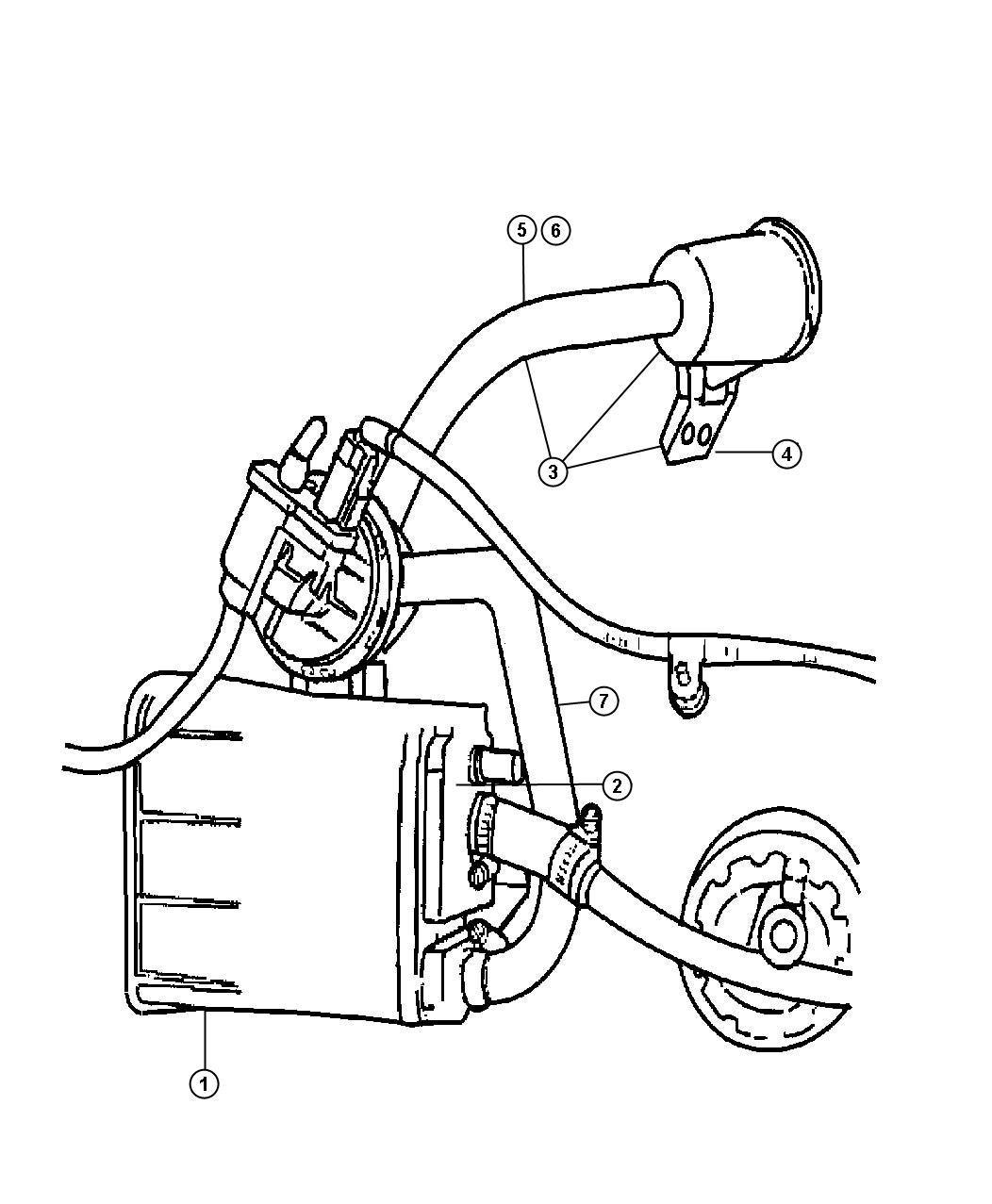 Chrysler 300 Filter Leak Detection Pump Nam