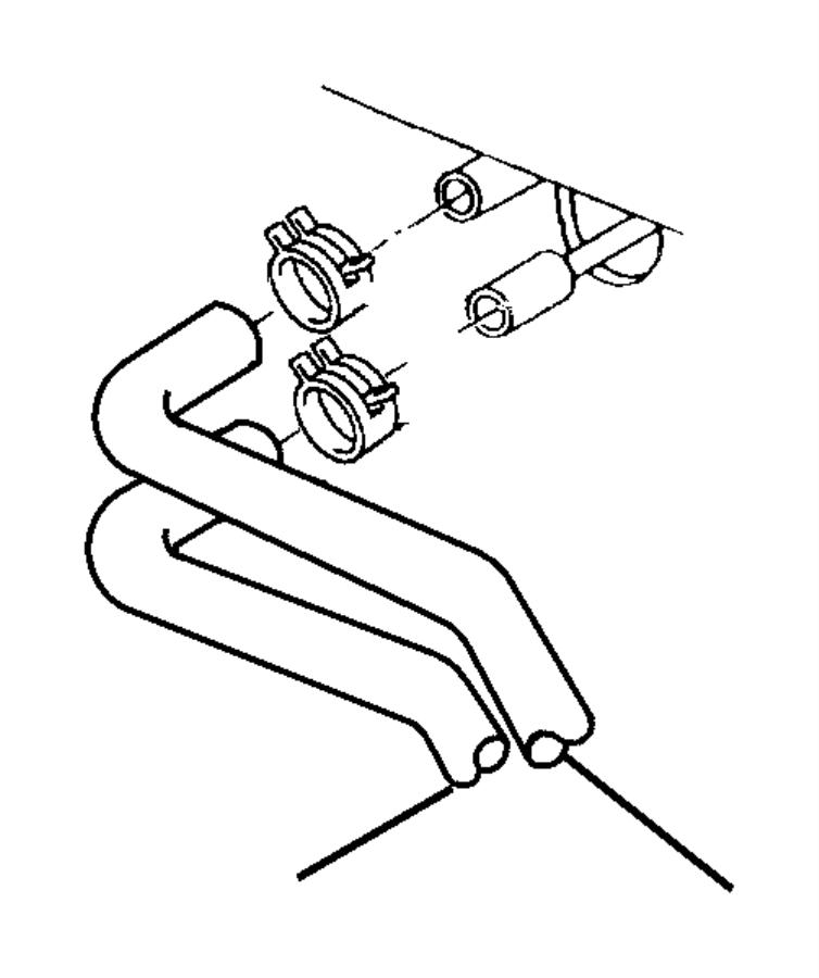 Chrysler LHS Clamp. Hose. 27x15, m28.9 x 1.60. Ais, egz