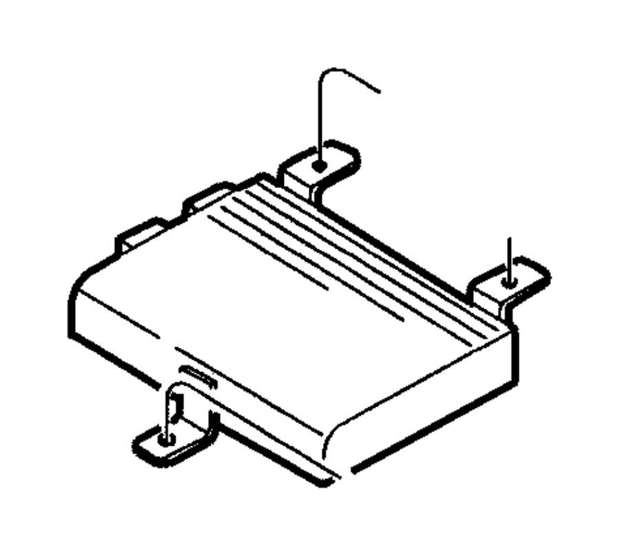 chrysler infinity amplifier