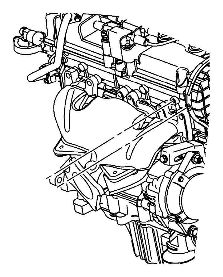 2002 Chrysler PT Cruiser Cap. Power steering reservoir