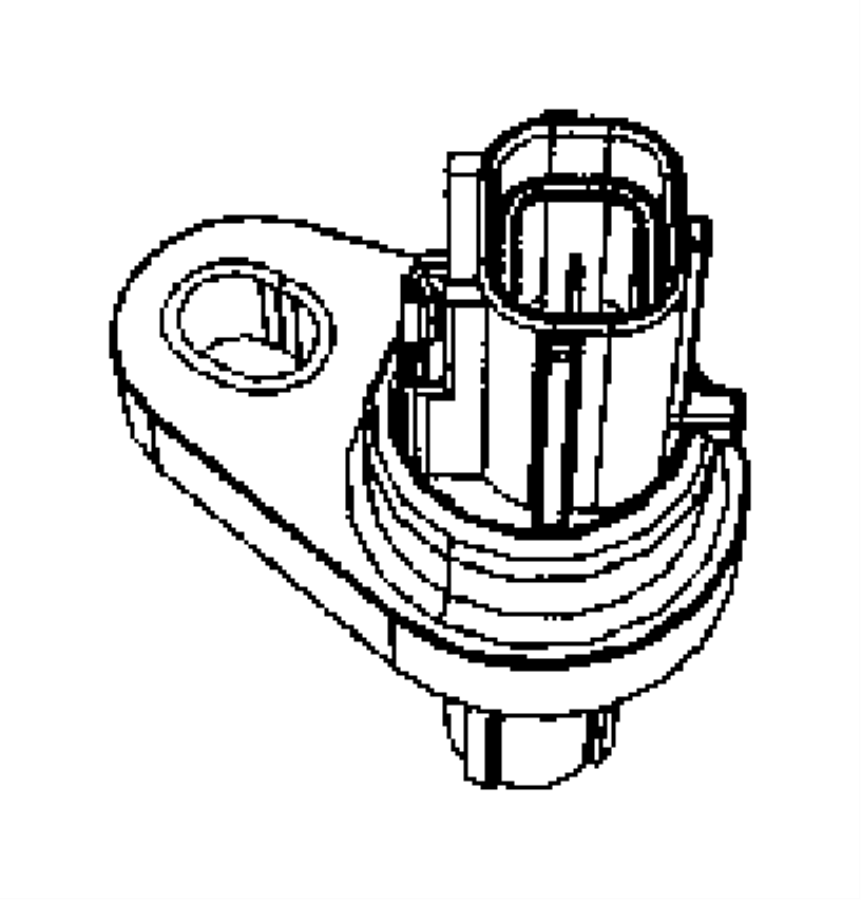 2010 Chrysler Town & Country Speed sensor assy. Input