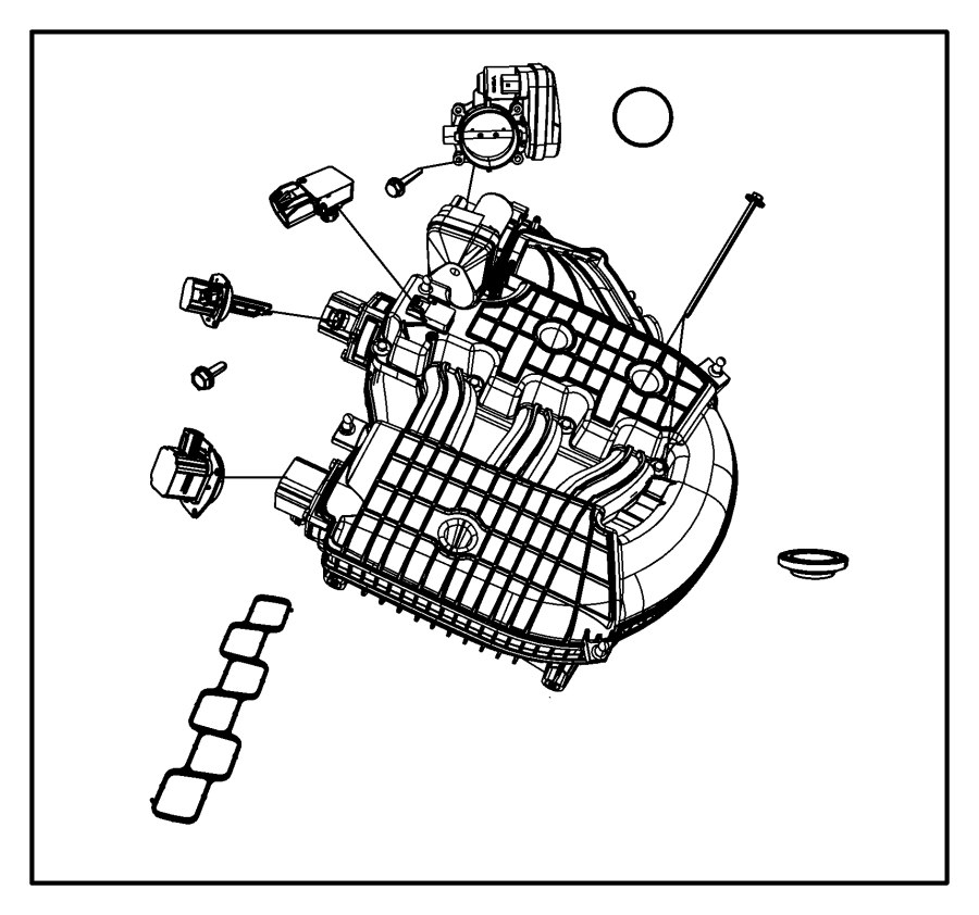 Town And Country Intake Manifold On Dodge 3 0 Sohc Engine Diagram