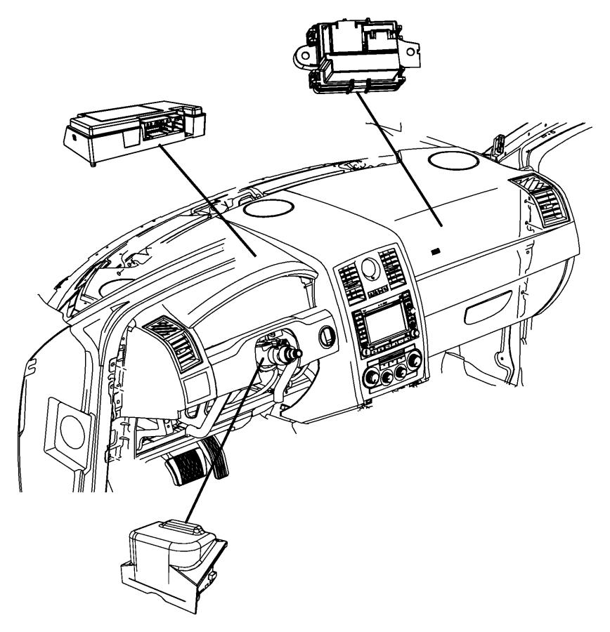 Chrysler 300 Module. Telematics. Uconnect, command