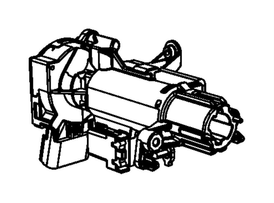 2006 Chrysler PT Cruiser Switch. Ignition. Export. Trim