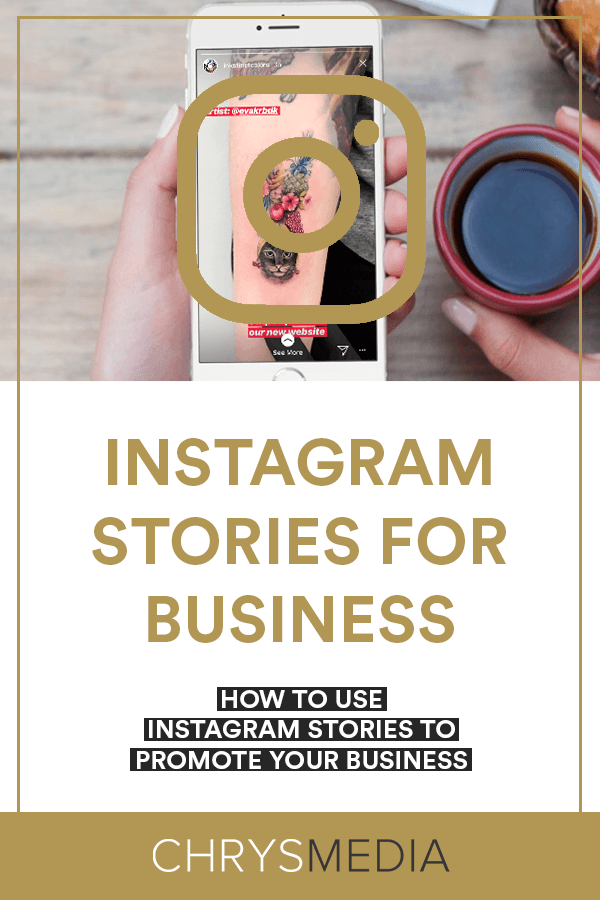 How to Use Instagram Stories To Promote Your Business Pin 2