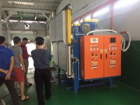 New vacuum hardening was installed in Malaysia : Furnace
