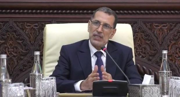 كلمة العثماني في اجتماع الحكومة حول التغطية الصحية للمهن الحرة والمقررات الدراسية