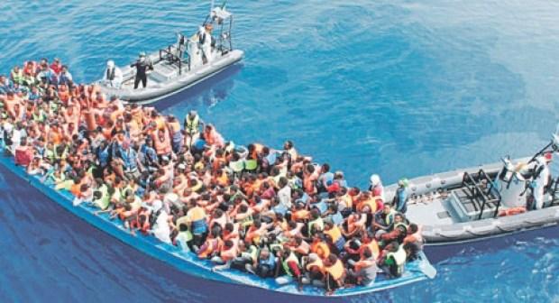 البحرية الملكية تقدم المساعدة لـ181 مرشحا للهجرة السرية