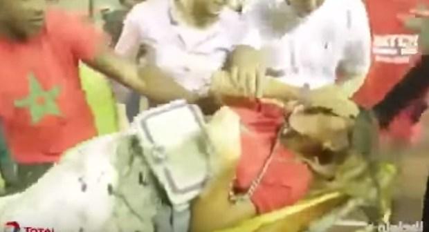بالفيديو: الأمن الايفواري يعتدي على إبنة رونار مباشرة بعد مقابلة التأهل