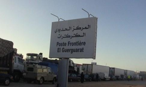 الجيش يتحرك لفك الحصار عن الشاحنات في الكركرات