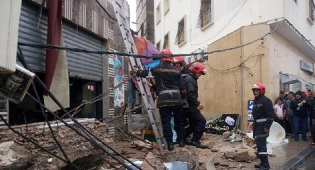 انهيار منازل بالدار البيضاء يخلف الذعر وسط الساكنة