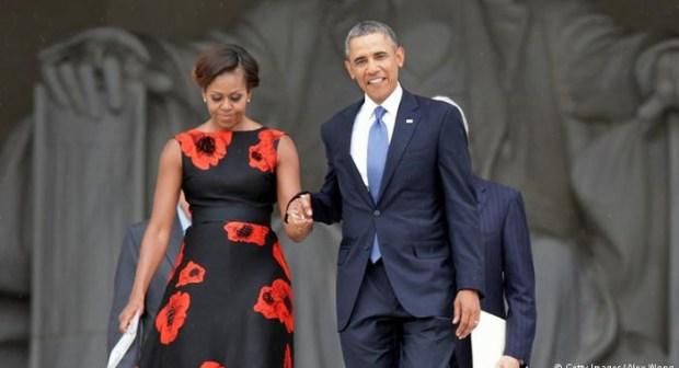 أوباما و زوجته يعتزمان ولوج مجال التقديم التلفزيوني