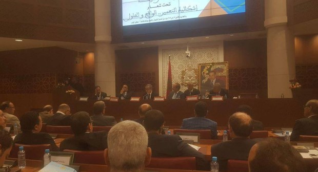 رؤساء الجماعات الترابية التجمعية بجهة سوس ماسة في يوم دراسي بقبة البرلمان حولإشكالية التعمير