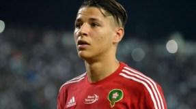 الفيفا تضطر تغير برتوكولها بسبب اللاعب المغربي أمين حارث
