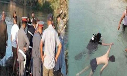 إمي مقورن..إنتشال جثة شاب غرق في بركة ماء