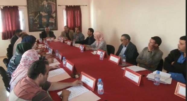 المجلس الجماعي لسيدي وساي يعقد دورته العادية لشهر أكتوبر 2018 في أجواء موسومة بالجدية و الانسجام ، وروح المسؤولية