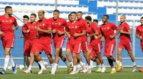 المنتخب المغربي يستهل تحضيراته لمواجهة الكاميرون في غياب بنعطية