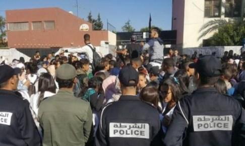 صدور أول حكم بالسجن ضد أحد متزعمي احتجاجات التلاميذ ضد الساعة الجديدة