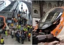 مقتل شخص واحد وإصابة ستة آخرين بجروح في خروج قطار عن سكته بإسبانيا