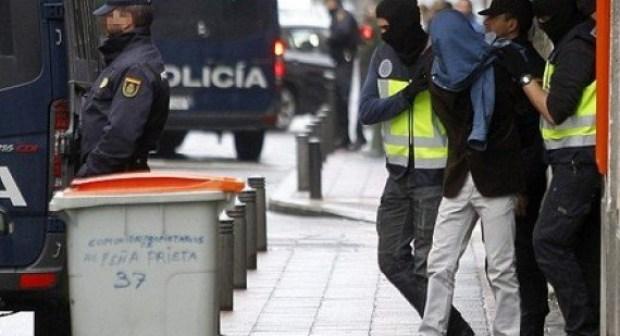 اعتقال مغربي يشتبه في انتمائه لمنظمة إرهابية بإسبانيا