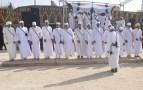 بالصور و بالفيديو..افتتاح مهرجان الرمال الذهبية بالذويرة انشادن