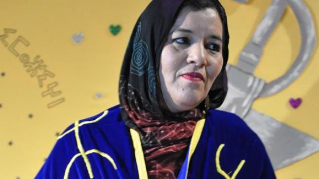 فاطمة تابعمرانت تُتوّج بجائزة الثقافة الأمازيغية