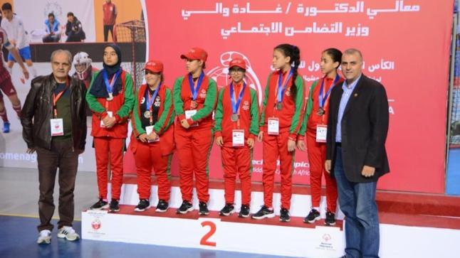 بطاقتين غاليتن  للمغرب  للالعاب العالمية  للاولمبياد الخاص  بالسويد  2021 فى الفوربول