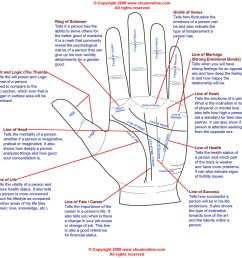 palm reading diagram and palmistry diagram [ 1200 x 1191 Pixel ]