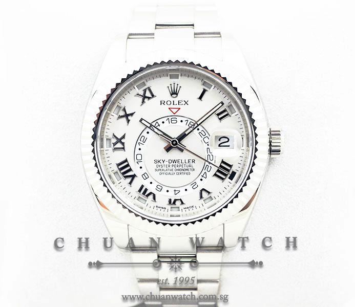 Rolex Sky-Dweller Annual Calendar GMT 326939 :: Chuan