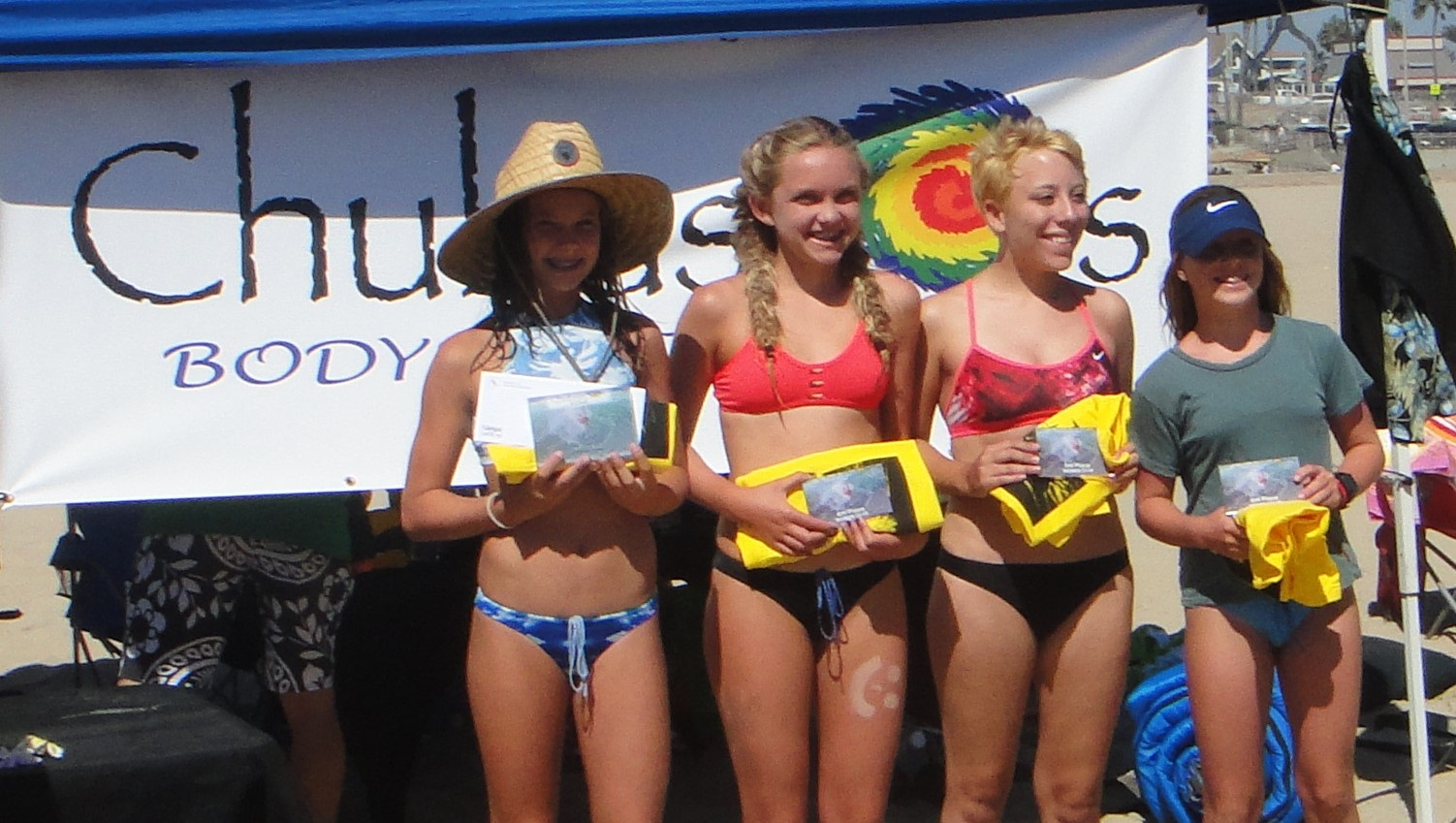 Huntington Beach Bodysurfing Contest
