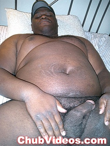 fat black gay man
