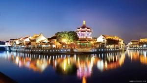 Chuck in Souzhou, China