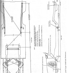 mustang frame 332 428 ford fe engine forum 68 mustang frame diagram  [ 1072 x 1512 Pixel ]