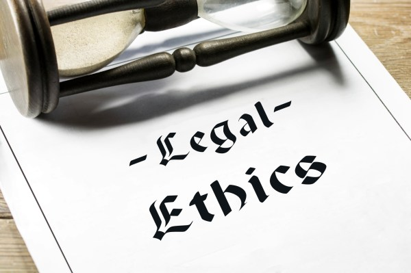 Legal Ethics Lawyers Fight Training