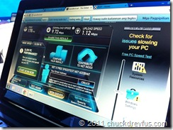 Speed Test 2 - 9.72 Mbps