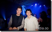 Dong Ronquillo (@fiercedong) and Me!  (Image courtesy of Alodia Gosiengfiao)