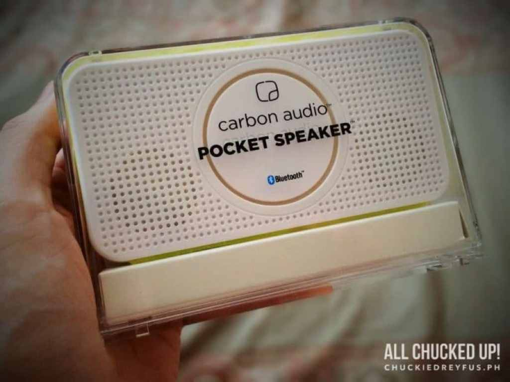Carbon Audio Pocket Speaker