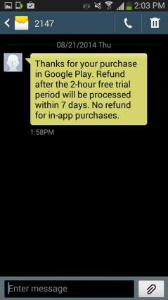 Buy apps on Google Play Store via Globe direct carrier