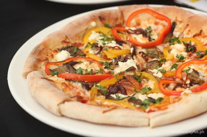 National Pizza Day at California Piizza Kitchen (CPK)- Goat Cheese