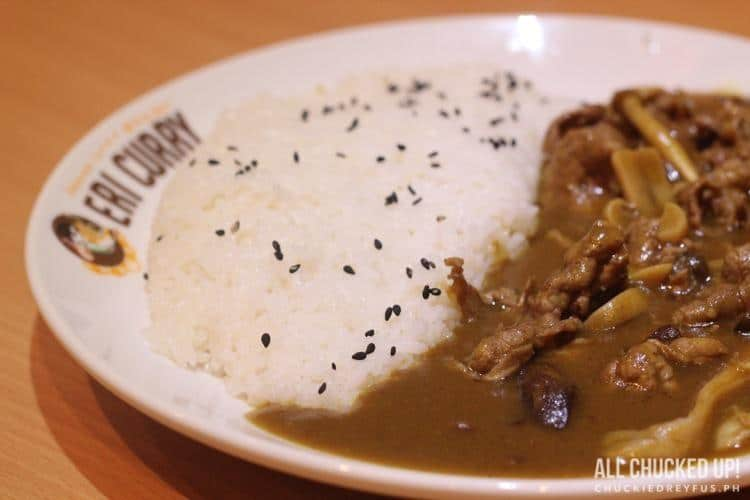 Eri Curry - Thin Sliced Beef Curry with Mushroom