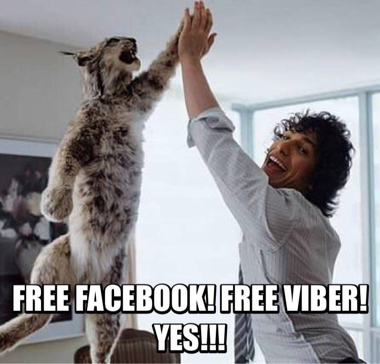 FREE Facebook and FREE Viber from Globe! Share Your Vibe!