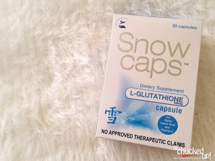 Snow Caps L-Glutathione and Snow Skin Whitening Soap