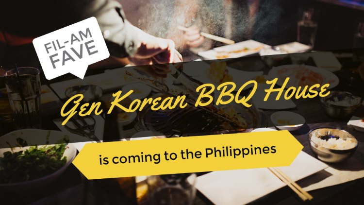 Gen Korean BBQ House - Philippines