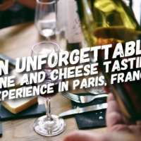 An unforgettable wine and cheese tasting experience in Paris, France