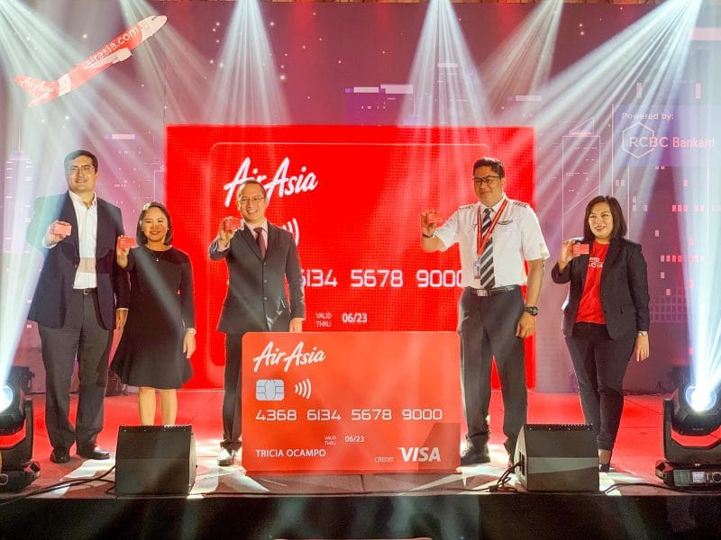 AirAsia Credit Card - RCBC - Visa - BIG Points