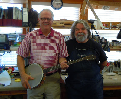 Livin' a Dream & Makin' the world a better place, one Chuck Lee banjo at a time.