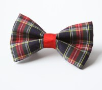 Plaid Bow Tie for Dogs