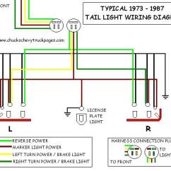 Wiring Diagram For Chevy Truck Tail Lights Arlec Fan Light Headlight And Schematic Typical 1973