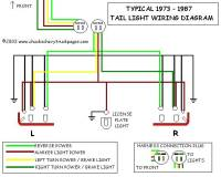 Headlight And Tail Light Wiring Schematic / Diagram ...