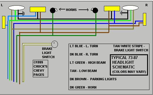 Chevy Trailer Wiring Harness Diagram: chevy brake light wiring diagram at sanghur.org